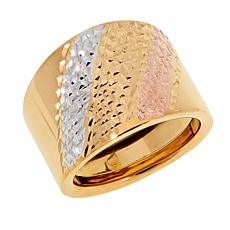 Michael Anthony Jewelry® 10K Tri-Color Gold Band Ring