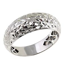 Michael Anthony Jewelry® 10K White Gold Domed Band Ring - Size 6