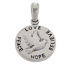 Michael Anthony Jewelry® Stainless Steel Dove Pendant