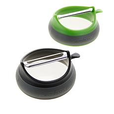 Microplane Grip 'N Strip Peeler Duo