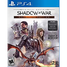 Middle-earth: Shadow of War Definitive Edition - PS4