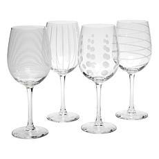 Mikasa Cheers White Wine Glass - Set of 4
