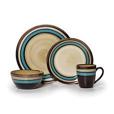 Mikasa Gourmet 16-piece Spector Blue Dinnerware Set  sc 1 st  HSN.com & Dinnerware Sets | Dinnerware | HSN