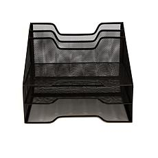 Mind Reader Mesh 5-tray Desk Organizer