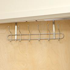 Mind Reader Over-The-Door 6-Hook Coat Organizer