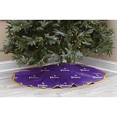 Minnesota Vikings Christmas Tree Skirt