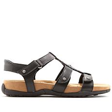 Minnetonka Bristol Studded Leather Sandal