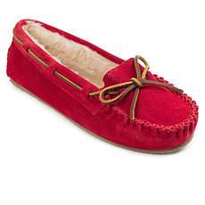 Minnetonka Red Slippers   HSN