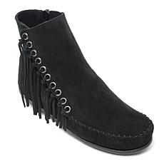 Minnetonka Willow Suede Fringe Boot