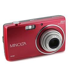 Minolta 20MP 5X Optical Zoom Point and Shoot Camera w/8GB Memory Card