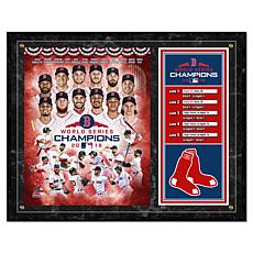 MLB 2018 World Series Champions Composite Plaque