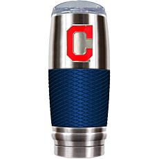 MLB 30 oz. Stainless/Blue Reserve Tumbler - Indians