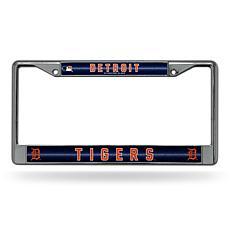 MLB Bling Chrome Frame - Tigers