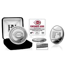 MLB Cincinnati Reds Silver-Plated Coin