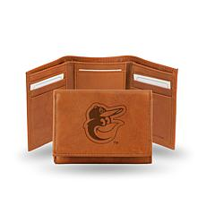 MLB Embossed Trifold Wallet - Orioles