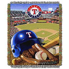 MLB Home Field Advantage Tapestry Throw - Rangers