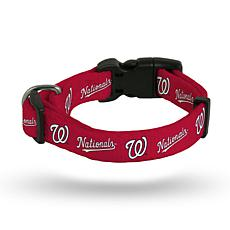 MLB Large Pet Collar - Nationals