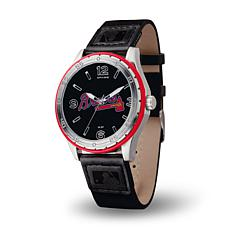 MLB Players' Embossed Strap Watch - Atlanta Braves