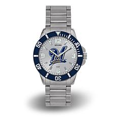 "MLB Sparo ""Key"" Team Logo Stainless Steel Bracelet Watch - Brewers"