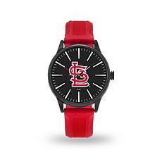 """MLB Sparo Team Logo """"Cheer"""" Strap Watch - Cardinals"""
