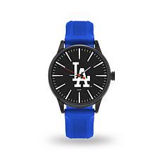 """MLB Sparo Team Logo """"Cheer"""" Strap Watch - Dodgers"""