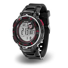 "MLB Team Logo ""Power"" Digital Sports Watch - Nationals"