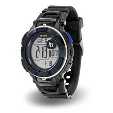 "MLB Team Logo ""Power"" Digital Sports Watch - Rays"