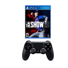 MLB The Show 20 and DualShock 4 Wireless Controller for PlayStation 4