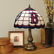 MLB Tiffany-Style Table Lamp - Boston Red Sox