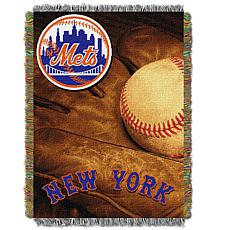MLB Vintage Throw - Mets