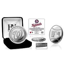 MLB Washington Nationals Silver-Plated Coin