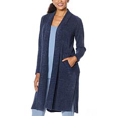 ModernSoul® Cozy Knit Open Front Cardigan with Pockets
