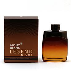 Mont Blanc Legend Night For Men Eau De Parfum Spray - 3.4 oz.