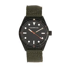 Morphic M69 Series Men's Canvas Strap Watch