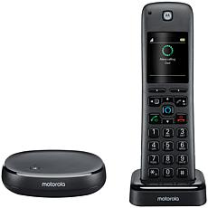 Motorola AXH01 Cordless Digital Phone and Answering System with Alexa