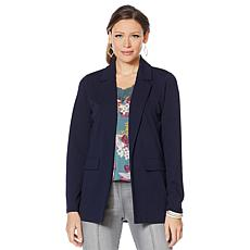 Motto Lightweight Stretch Crepe Boyfriend Blazer