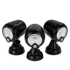 Mr. Beams Motion-Sensing Spotlight 3-pack