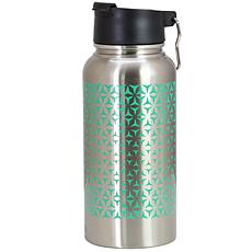 Mr Coffee Cabot 30 oz Stainless Steel Insulated Thermal Travel Bott...
