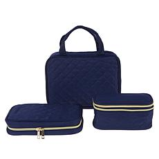 Ms. J Quilted 3-in-1 Travel Trio