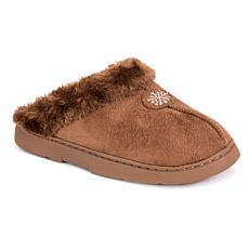 MUK LUKS Clog Slipper with Faux Fur Lining
