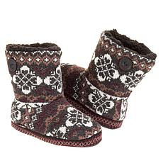 MUK LUKS Convertible Slipper Bootie