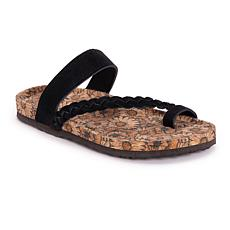MUK LUKS Keia Toe-Loop Sandal