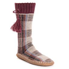 MUK LUKS Tassel Slipper Socks
