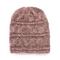 MUK LUKS® Women's Cable Slouch Beanie