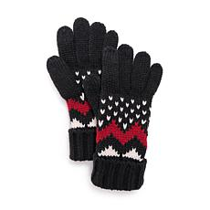 MUK LUKS® Women's Chevron Gloves