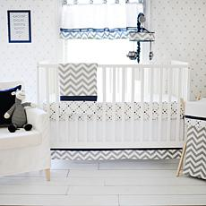 My Baby Sam Out of the Blue 3-piece Crib Set