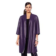 N Natori Faux Leather Topper
