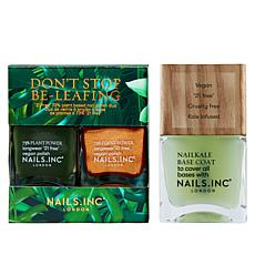 Nails.INC Don't Stop Be-leafing Collection