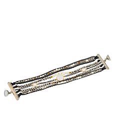 Nakamol Beaded 5-Layer Bracelet