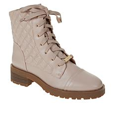 Nanette Nanette Lepore Idalia Quilted Combat Boot